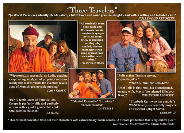 front(2) Three Travelers